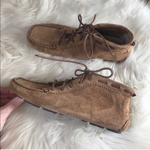 Perfect Ugg moccasin booties